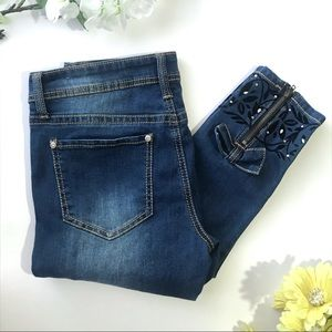 HYDRAULIC Lola Ankle Skinny Jeans